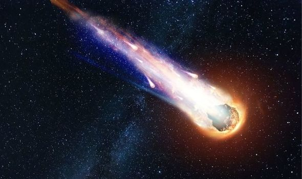 As big as the Burj Khalifa, the meteorite is moving fast towards